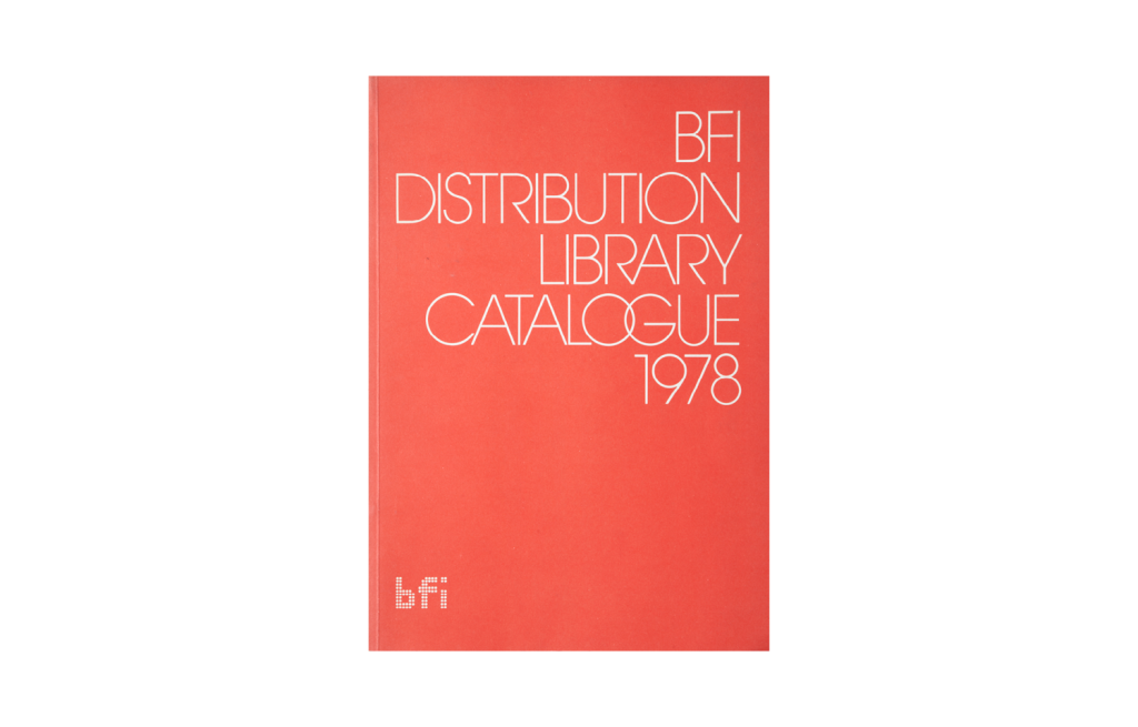 <i>BFI Distribution Library Catalogue 1978</i>