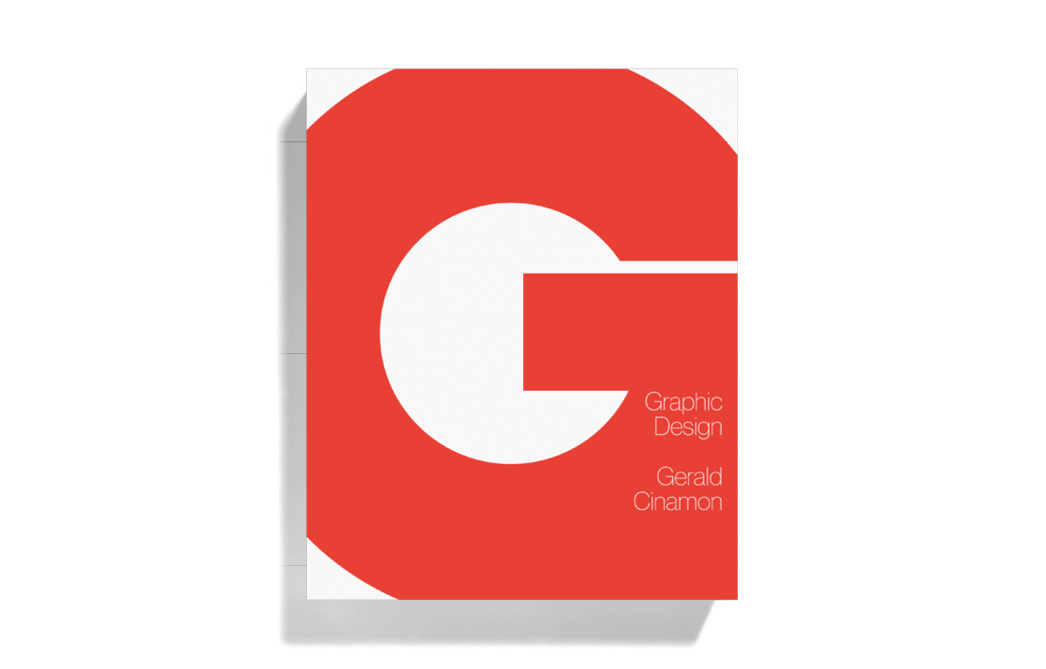 <i>Graphic Design, Gerald Cinamon</i> (Book, 2013)
