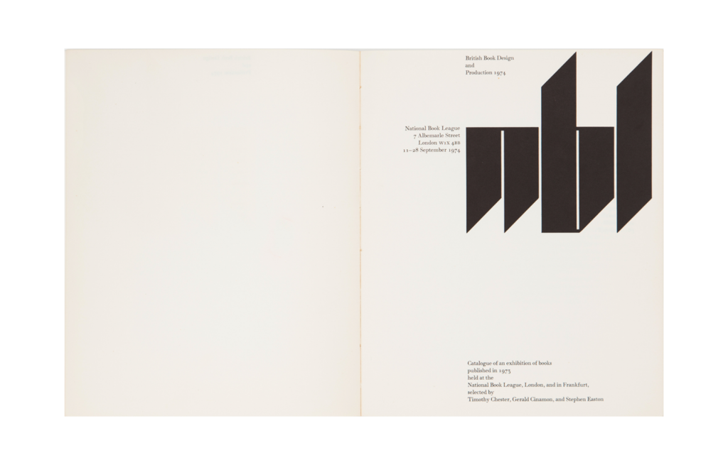 <i>Catalogue of an Exhibition of Books Published in 1973</i>