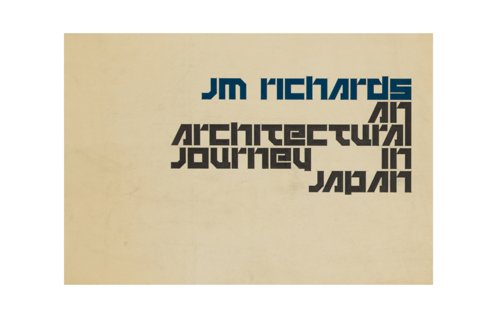 An Architectural Journey in Japan