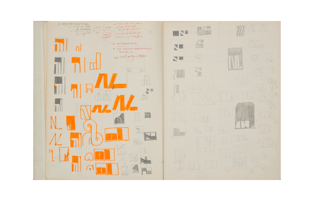 Sketchbooks from 1957