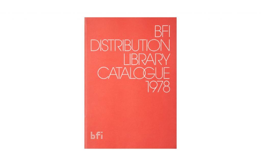 <i>BFI Distribution Library Catalogue 1978</i>
